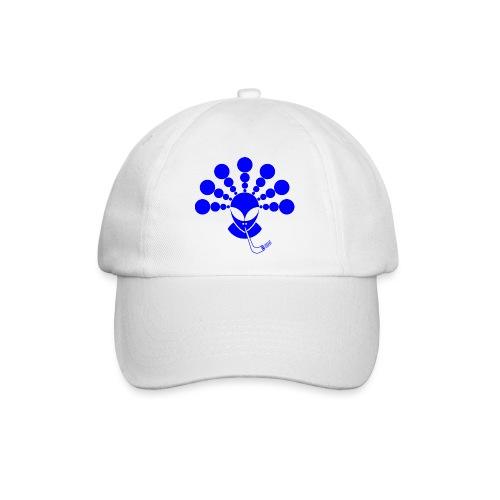 The Smoking Alien Blue - Baseball Cap