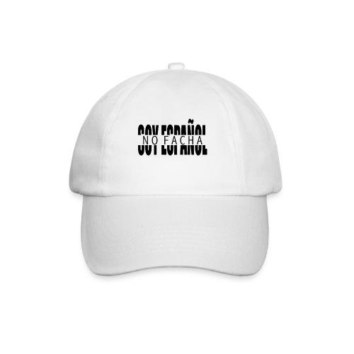 soy español no facha patriots - Gorra béisbol