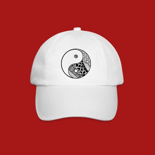 Decorative-Yin-Yang - Baseballkasket