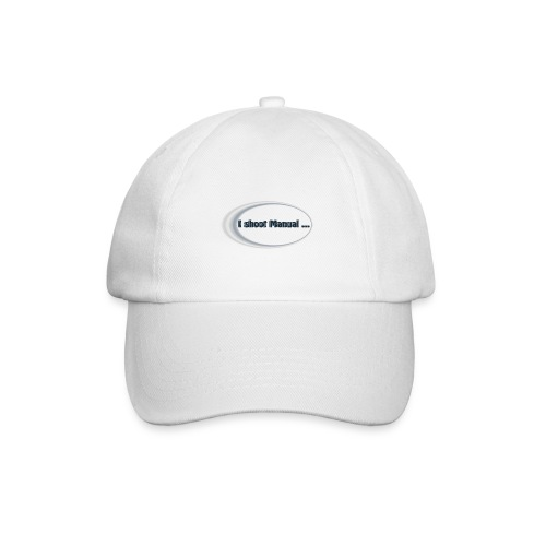 I shoot manual slogan - Baseball Cap