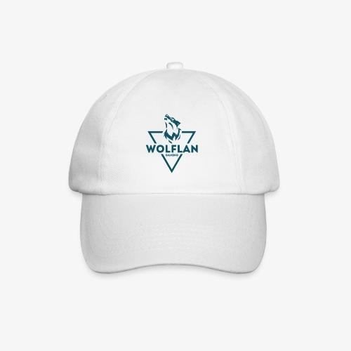 WolfLAN Logo Gray/Blue - Baseball Cap