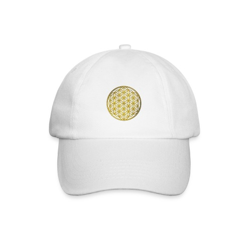 Flower of life GOLD - Baseballcap
