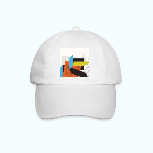 Vintage shapes abstract - Baseball Cap