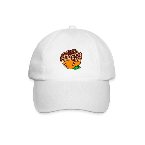 Schüssel Spaghetti - Baseballkappe