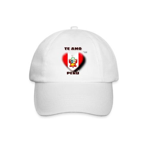 Te Amo Peru Corazon - Baseballkappe