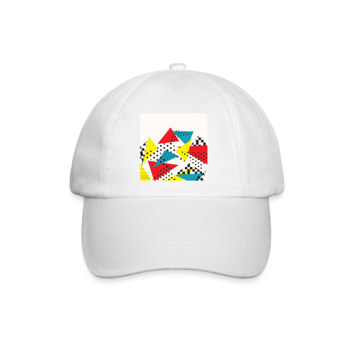 Abstract vintage collage - Baseball Cap