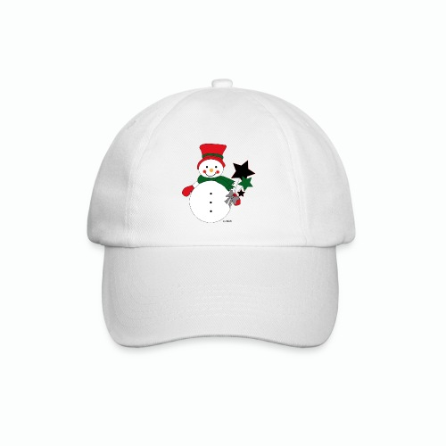 Snowtime-Red - Baseballkappe