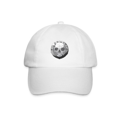Rigormortiz Black and White Design - Baseball Cap