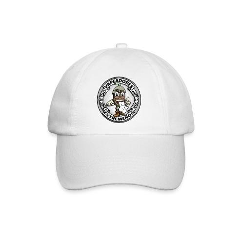 logo blanco - Gorra béisbol