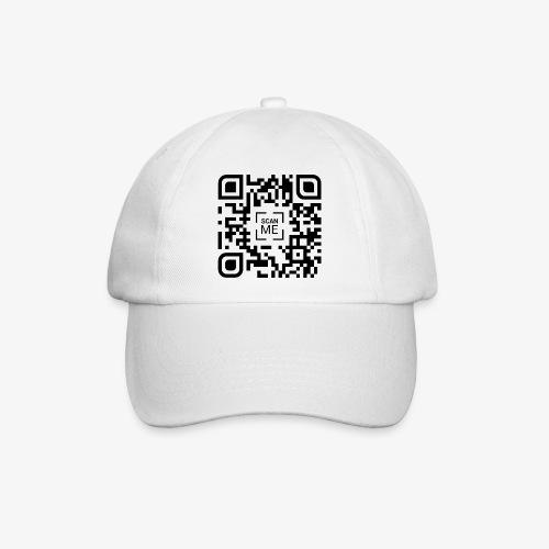 QR code (black) - Baseball Cap