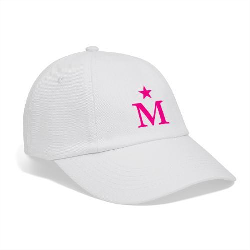 M de Moderdonia rosa - Gorra béisbol