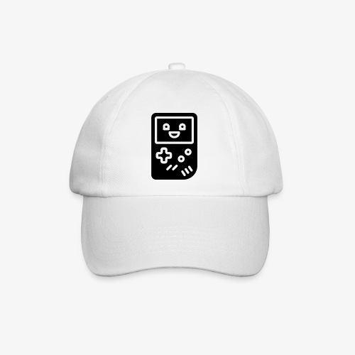 Smiling game console (black, inverted) - Baseball Cap