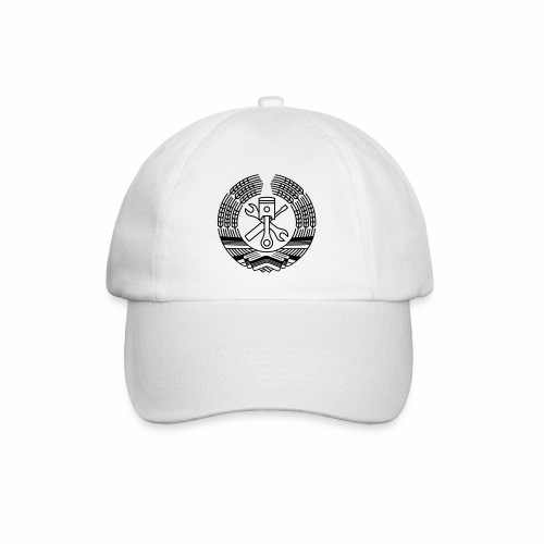 DDR Tuning Coat of Arms 1c (+ Your Text) - Baseball Cap