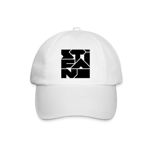 Logo Stifano versie 02 BLACK 800px png - Baseballcap