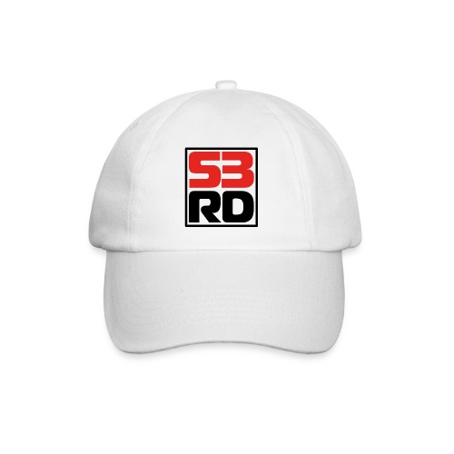 53RD Logo kompakt umrandet (schwarz-rot) - Baseballkappe