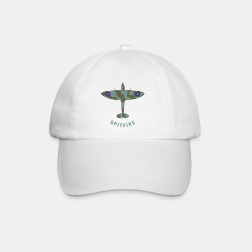 Spitfire fighter plane - Baseball Cap