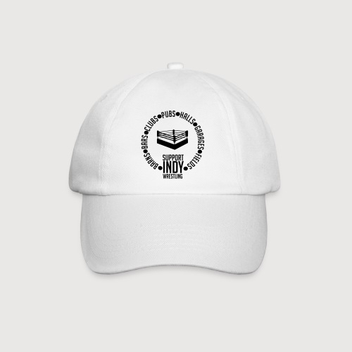 Support Indy Wrestling Anywhere - Baseball Cap