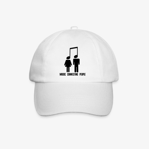 Music Connecting People - Baseballkappe