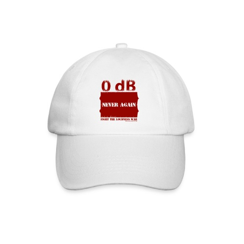 Fight the Loudness War (Red) - Casquette classique
