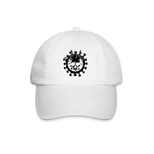 Teschio Dark Nero Covid - Cappello con visiera