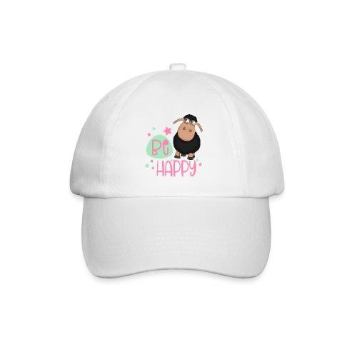 Black sheep - be happy sheep Happy sheep - Baseball Cap