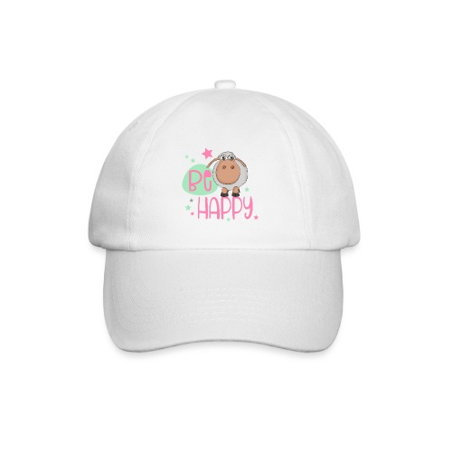 Be happy Schaf - Glückliches Schaf - Glücksschaf - Baseballkappe