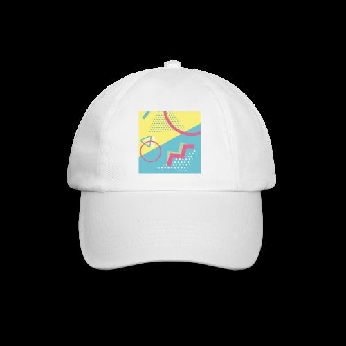 Pastel turquoise geometry - Baseball Cap