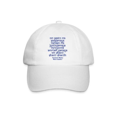 Om Asatoma Sadgamaya - Cappello con visiera
