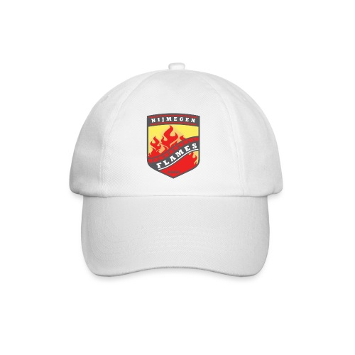 snapback pet rood/zwart combi - Baseballcap