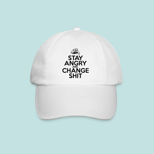 Stay Angry - Baseball Cap