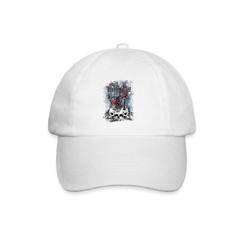 rock n roll skulls - Baseballcap