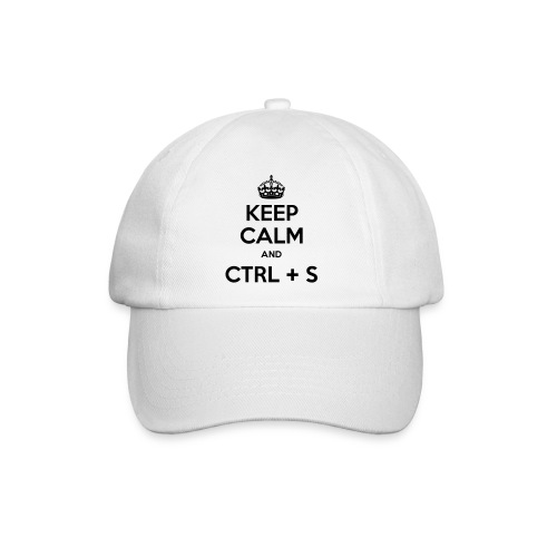 Keep Calm and CTRL+S - Casquette classique