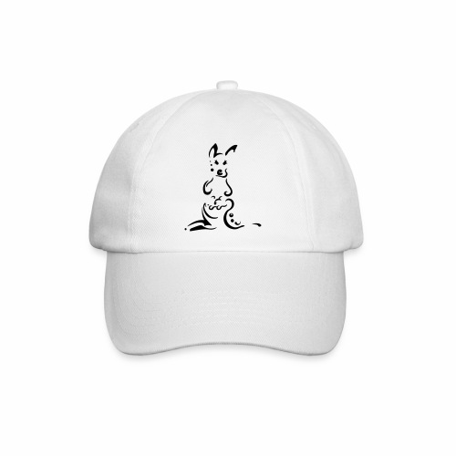 Kangaroos, clean tribal design - Baseball Cap