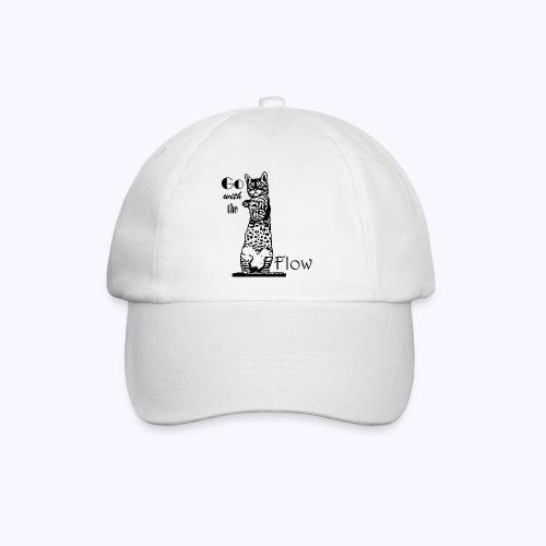 YogaKat1 schwarz - Baseballkappe