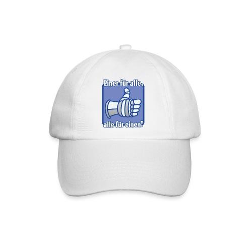Kinder Langarmshirt - Einer für alle, alle für e - Baseballkappe