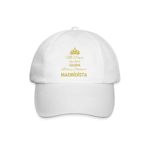 guapa lista siempre madridista - Cappello con visiera
