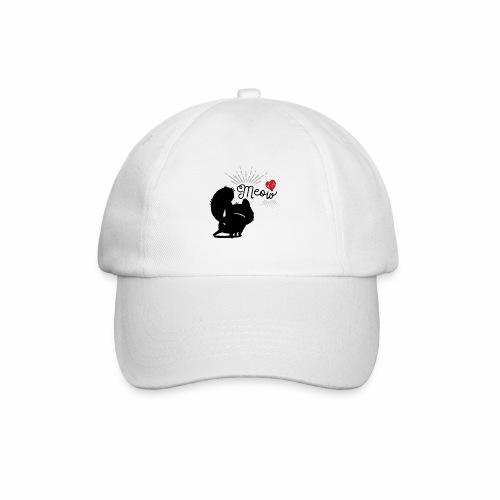 gatto meow - Cappello con visiera