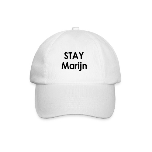 stay marijn black - Baseballcap