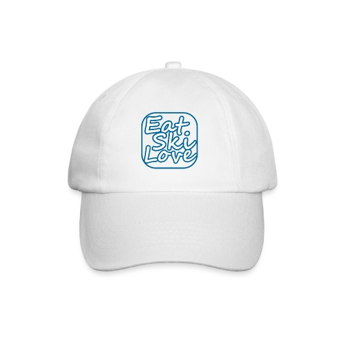 eat ski love - Baseballcap