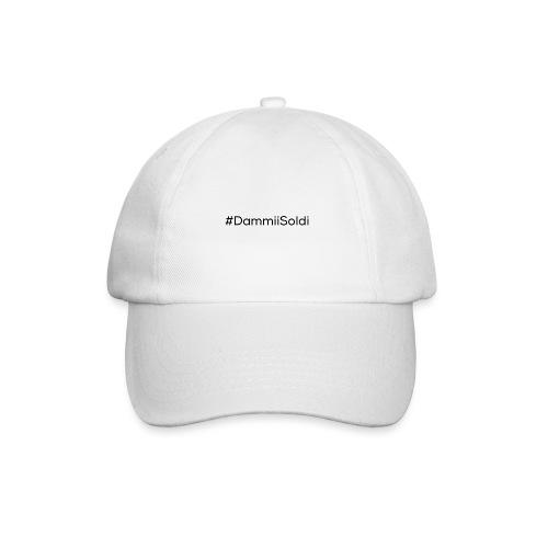DammiiSoldi Black - Cappello con visiera