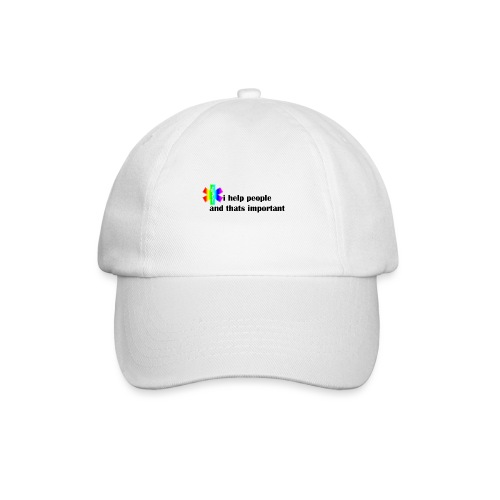 i help people - Baseballcap