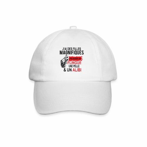J'AI DEUX FILLES MAGNIFIQUES Best t-shirts 25% - Casquette classique