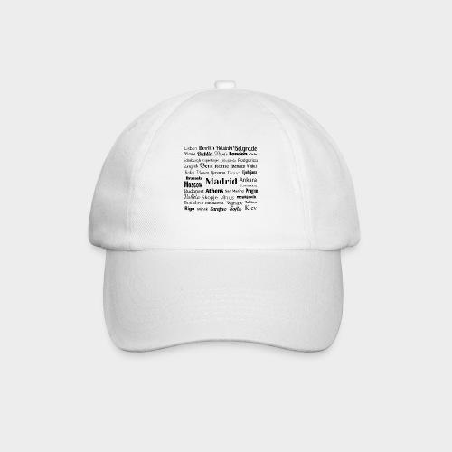 European capitals - Baseball Cap