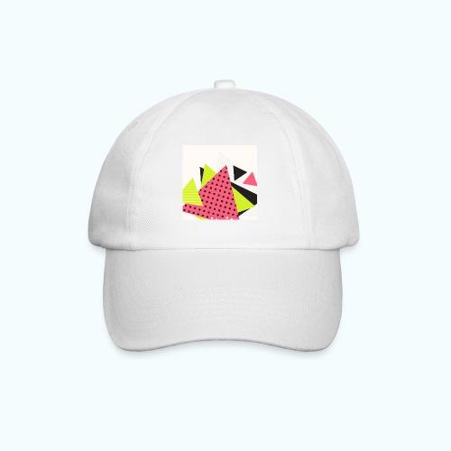 Neon geometry shapes - Baseball Cap