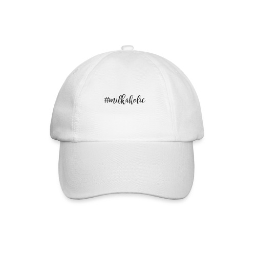 #milkaholic - Babybody - Baseballkappe