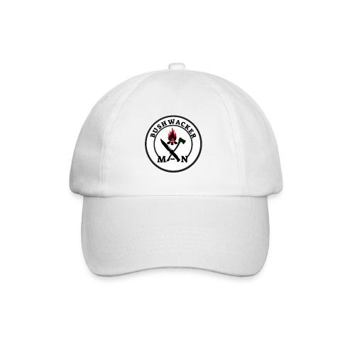 bushwackers logo white - Baseball Cap