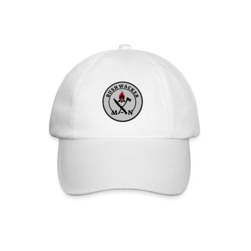 bushwackers logo Grey - Baseball Cap