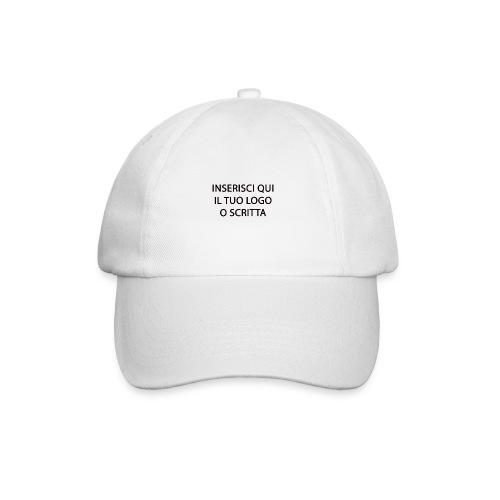 PERSONALIZZAZIONE - Cappello con visiera