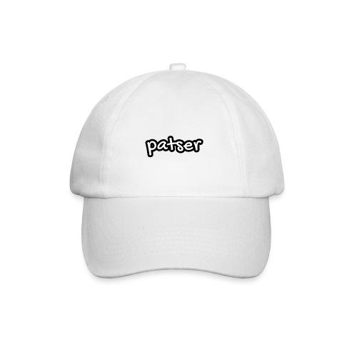 Patser - Basic White - Baseballcap