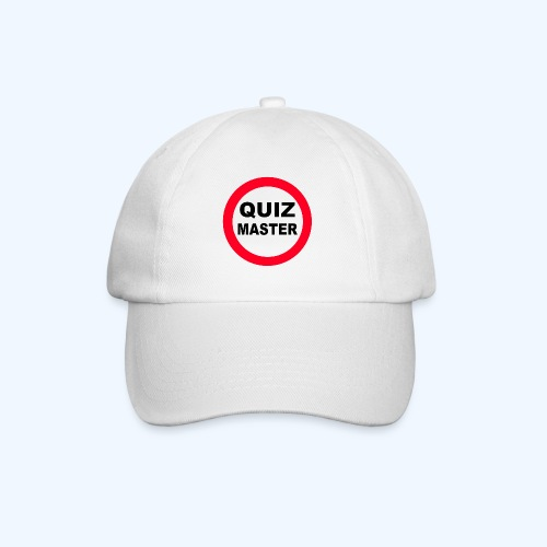 Quiz Master Stop Sign - Baseball Cap